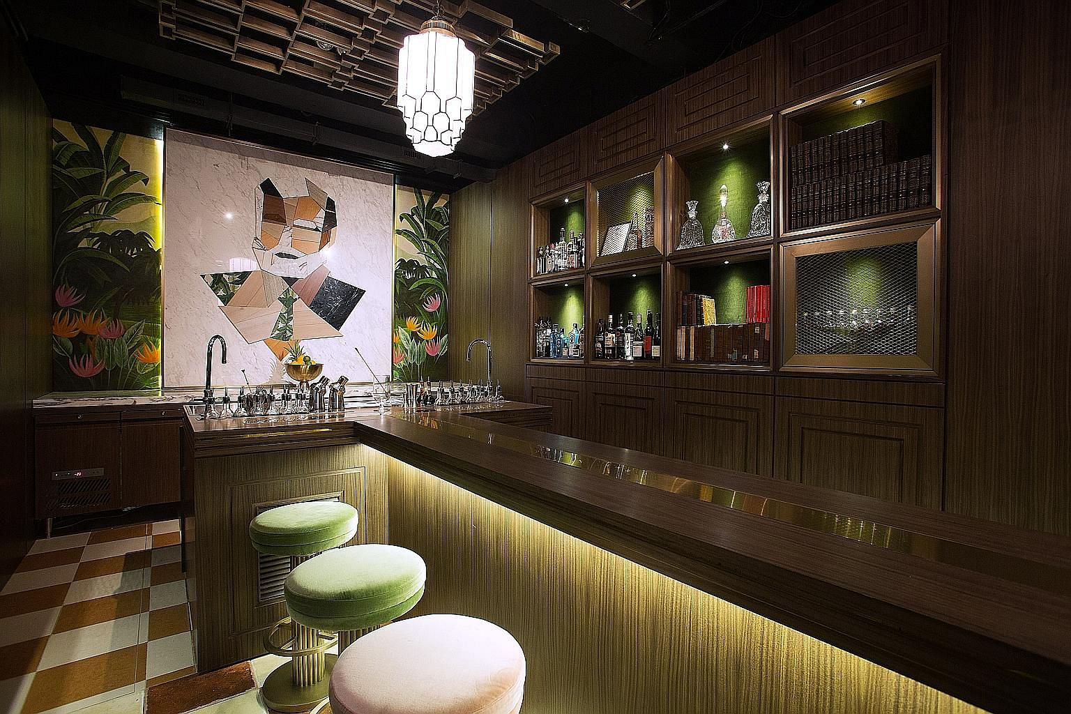 The Old Man cocktail bar was conceived by Mr Agung Prabowo, among other bartenders.