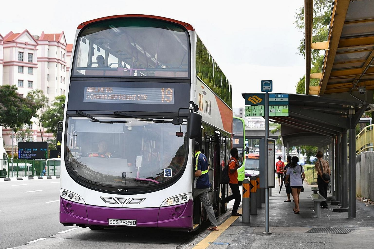 """SBS Transit, which is owned by ComfortDelGro, yesterday attributed its results for the first quarter ended March 31 mainly to """"higher fees earned with higher operated mileage from bus services and higher ridership and average fare from rail services"""""""