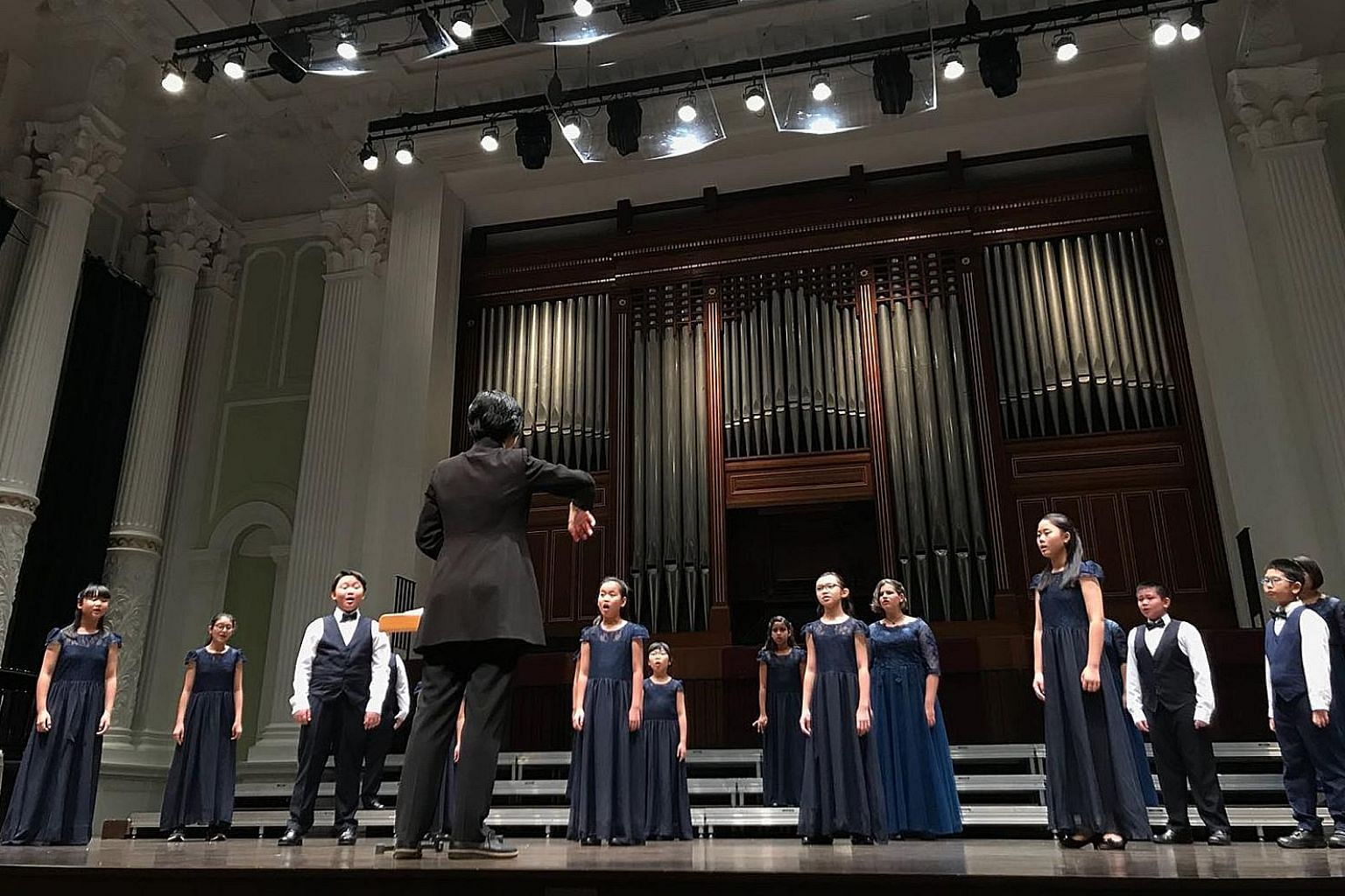 To be held on May 25, the annual concert of the Singapore Lyric Opera Children's Choir (above) is themed How Far I'll Go, after the hit song from the 2016 Disney animated film Moana.