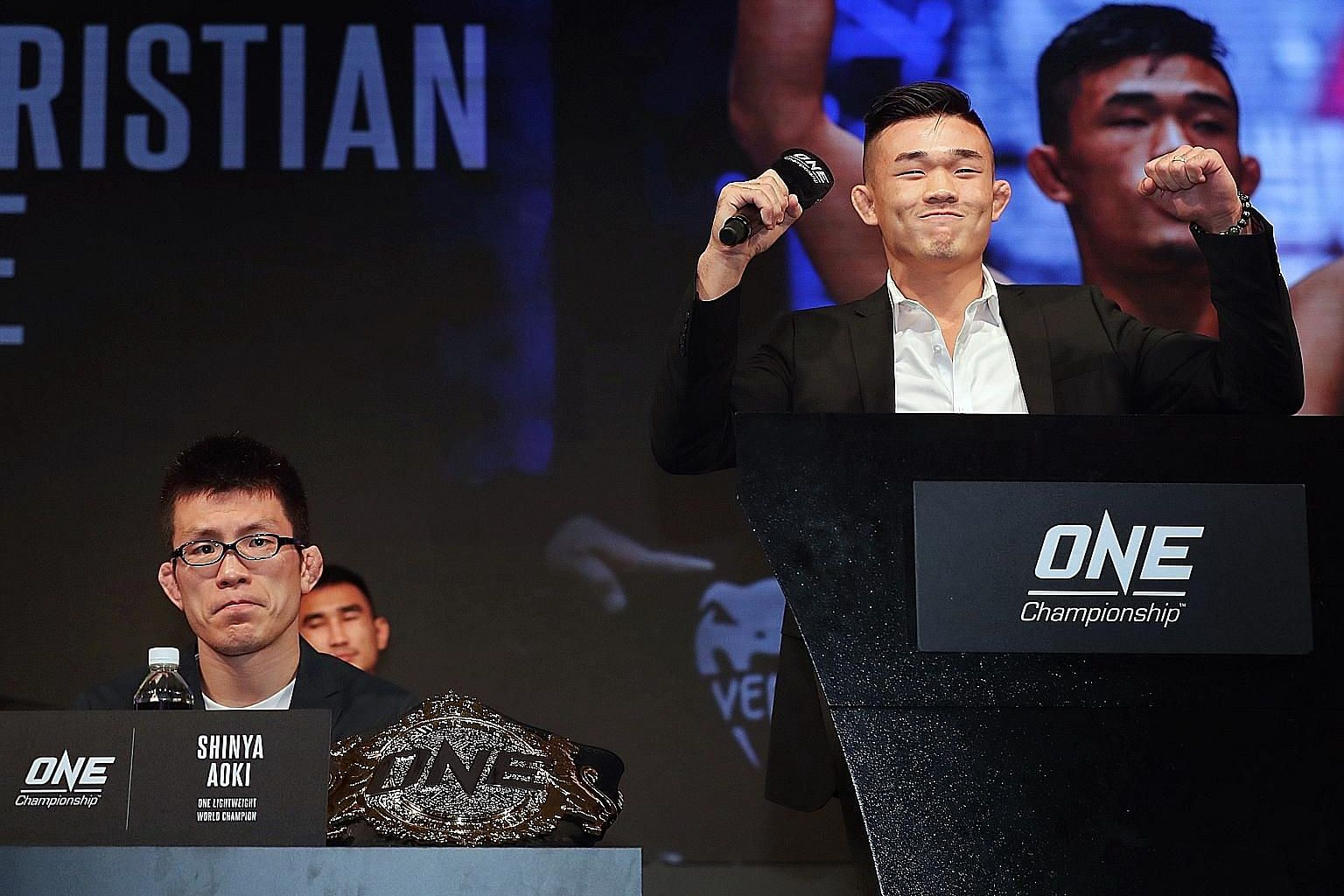 Christian Lee is upbeat on facing One's lightweight world champion Shinya Aoki on Friday, saying he has learnt and grown since losing in his first title fight a year ago.