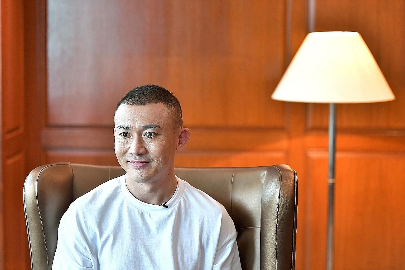 Nie Yuan's notable credits are in period dramas, but he also enjoys filming modern procedurals.
