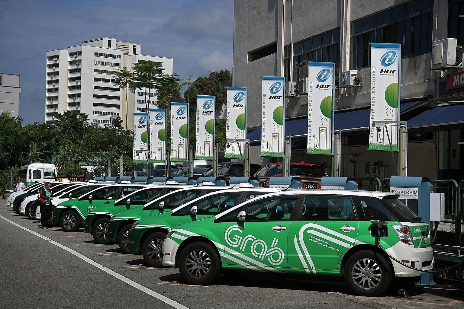 Grab plans to offer by next month hotel bookings, ticket purchasing, video streaming and integrated transport planning services in Singapore. Its existing offerings started with ride hailing and now include food delivery and financial services.