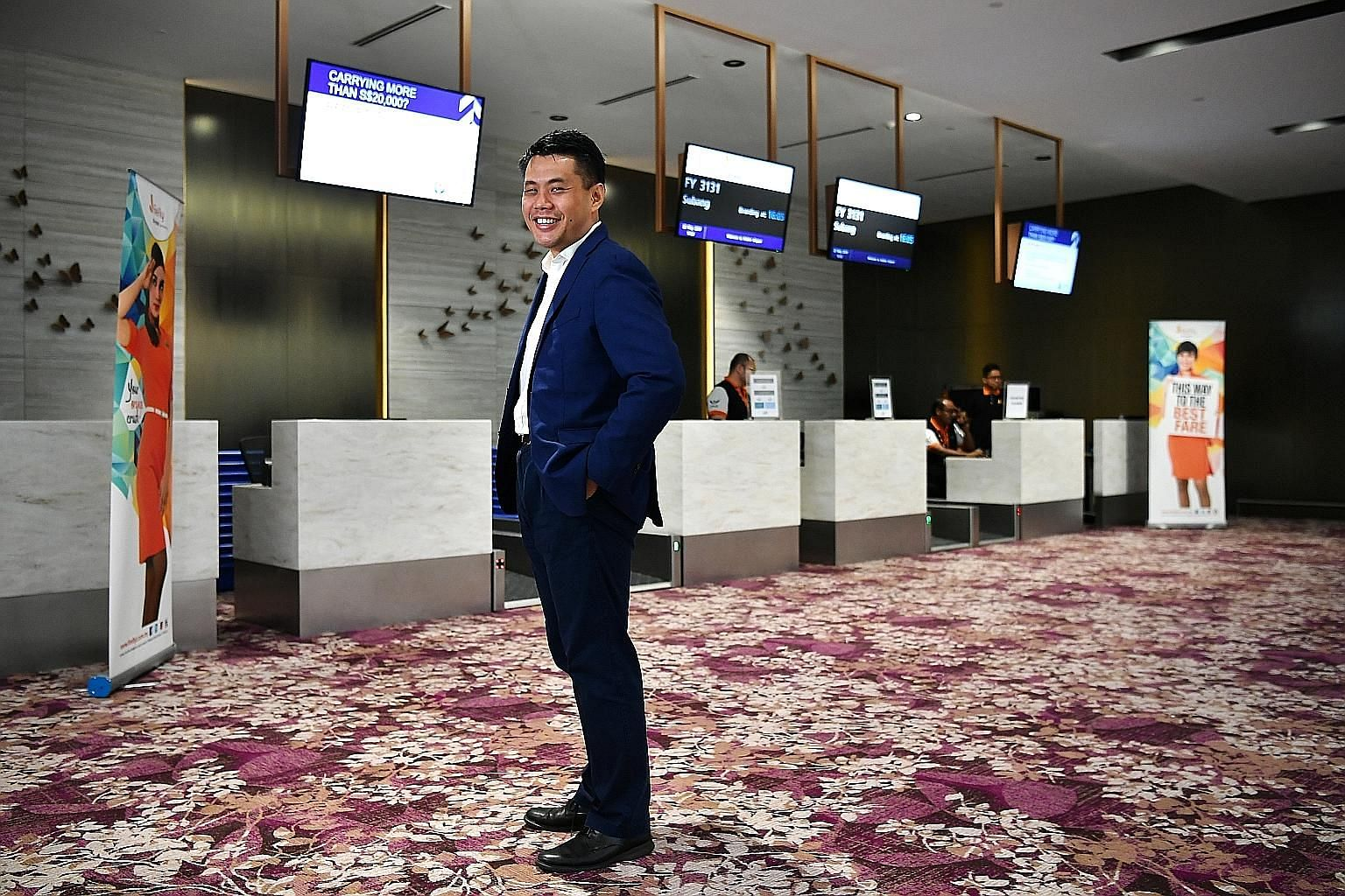 Firefly chief executive Philip See says his airline's Subang-Seletar trip takes less than two hours point to point, while flights between Kuala Lumpur International Airport and Changi Airport may take several hours.
