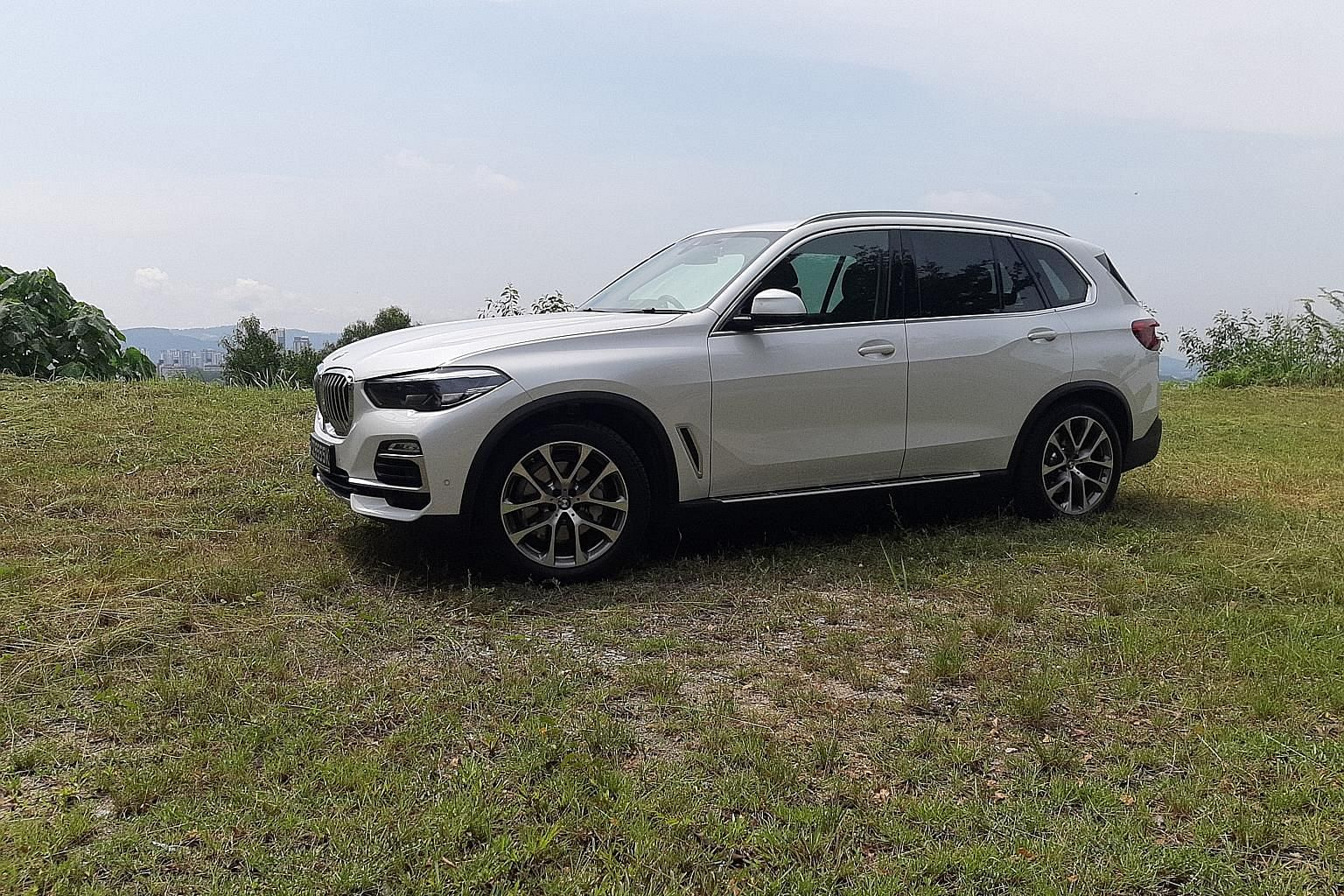 The BMW X5 is now bigger all round, resulting in a more roomy interior.