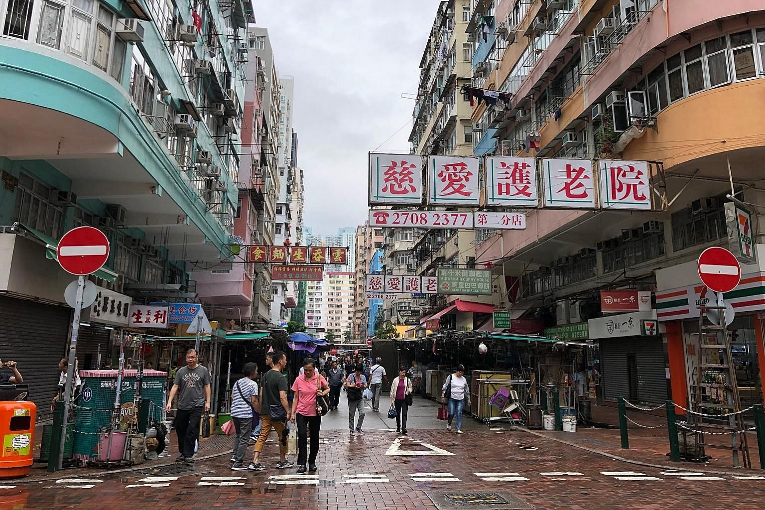 Sham Shui Po in Kowloon is Hong Kong's second-poorest district, with nearly one in four residents falling below the poverty line, according to statistics for last year. Of late, there have been more sightings of tourists armed with maps and street gu