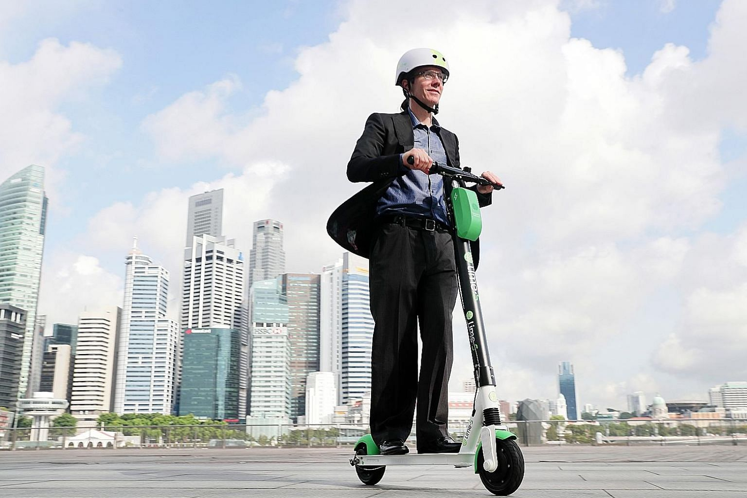 Lime chief operating officer Joe Kraus says e-scooters will be a critical part of the transportation landscape in the future.
