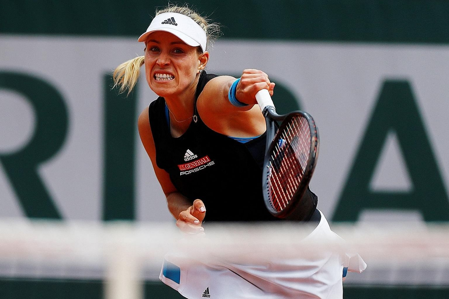 Angelique Kerber has now lost six times in the first round of the French Open, after she slumped to a 6-4, 6-2 loss to Russian teenager Anastasia Potapova yesterday.