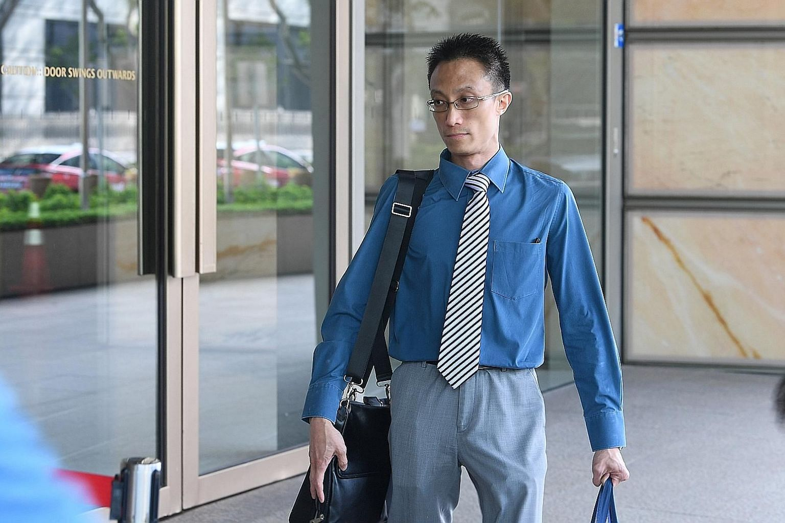 """Ler Teck Siang, who is representing himself in the trial, is accused of providing """"slamming"""" services, which is the street slang for administering illegal substances by injection."""