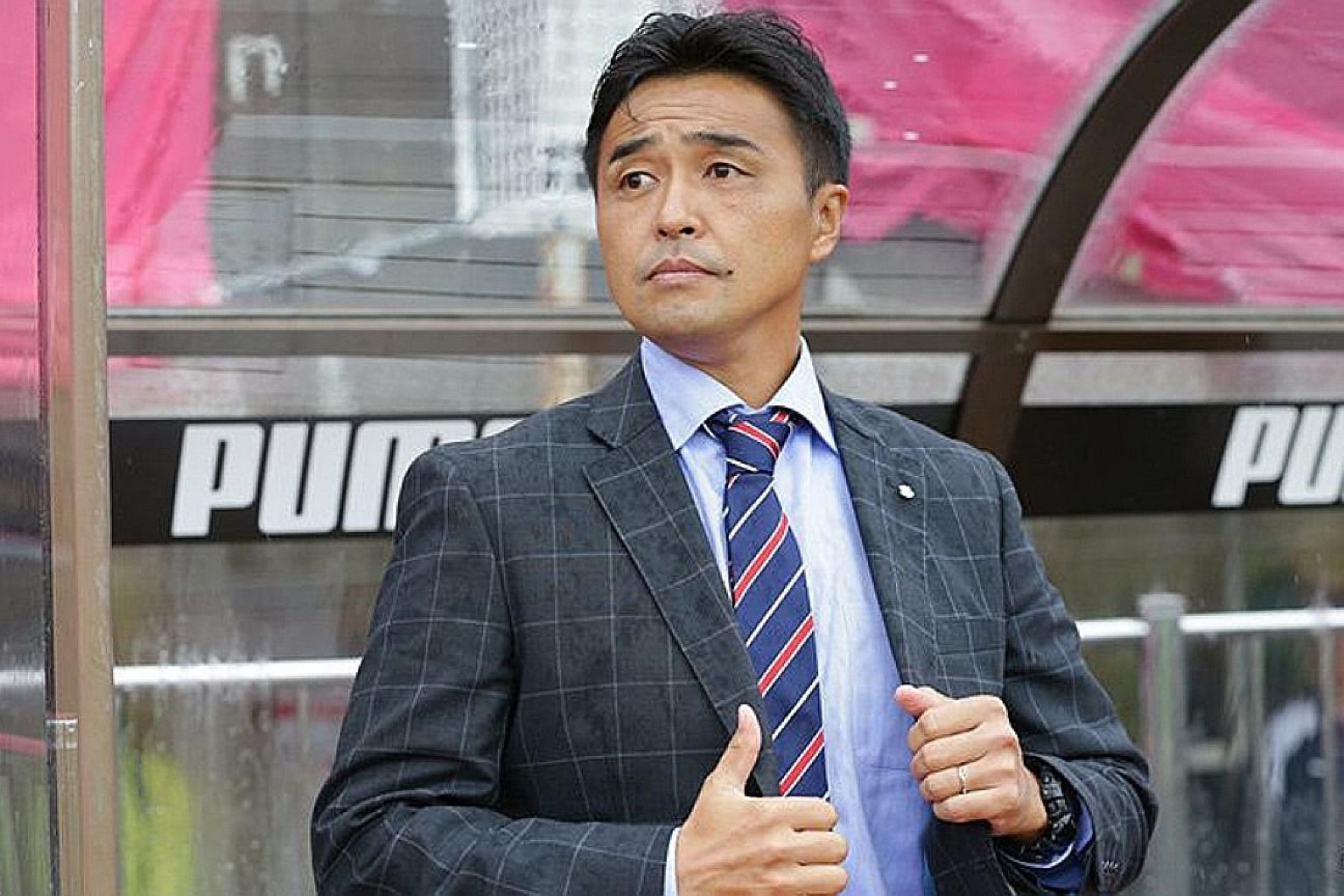 Tatsuma Yoshida has taken on the Lions' reins to rediscover their oomph. The new coach may fare better with a command of the local lingo.