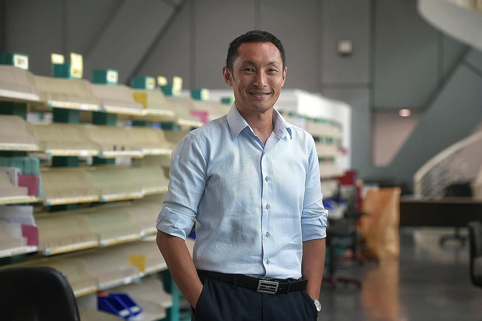 Mr Vincent Phang, country head and chief executive of postal services at SingPost, says it is in talks with government agencies to upgrade infrastructure to make receiving mail and parcels more convenient and efficient.