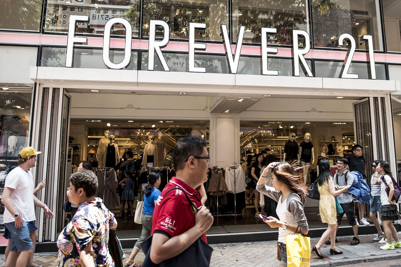 Fashion chain Forever 21 established itself as a destination for younger shoppers looking for trendy clothes at affordable prices. But competitors have crowded into that retail segment, from H&M to Target to new online sellers.
