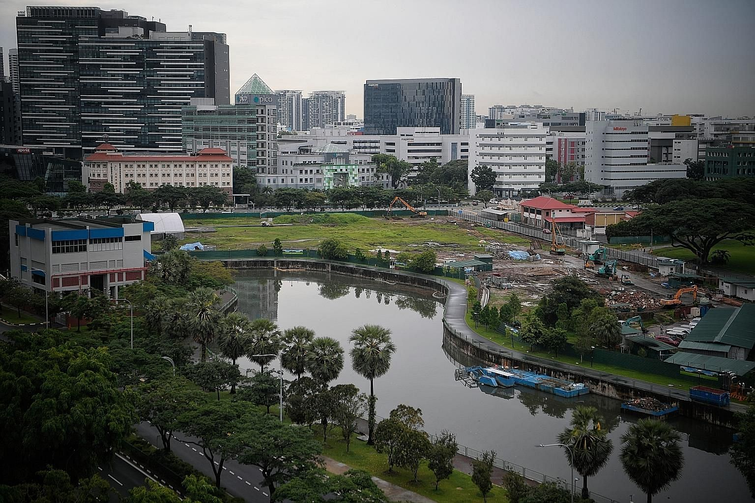 The Kampong Bugis site (right) will be released for sale under the reserve list to a master developer. It is expected to yield 4,000 private homes and 50,000 sq m of space for retail, offices, community uses, serviced apartments, sports and recreatio
