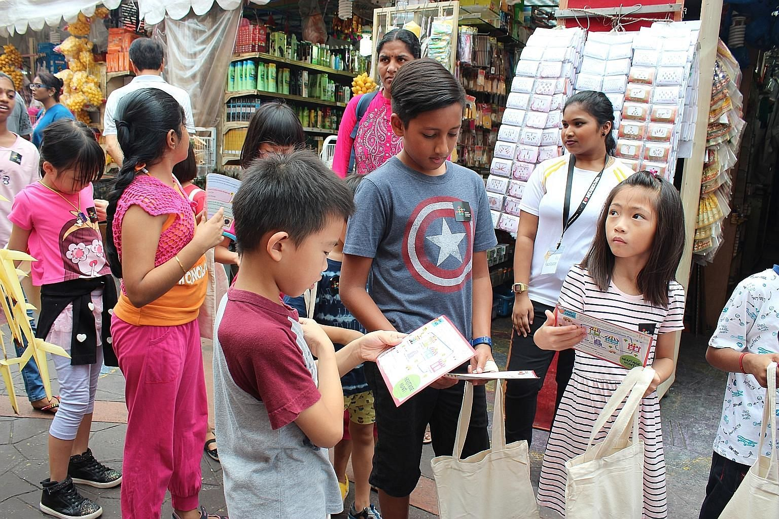 "In the Indian Heritage Centre's ""Little Indian Chefs!"" Heritage Hunt, children aged five to 12 will go on a learning journey around Little India."
