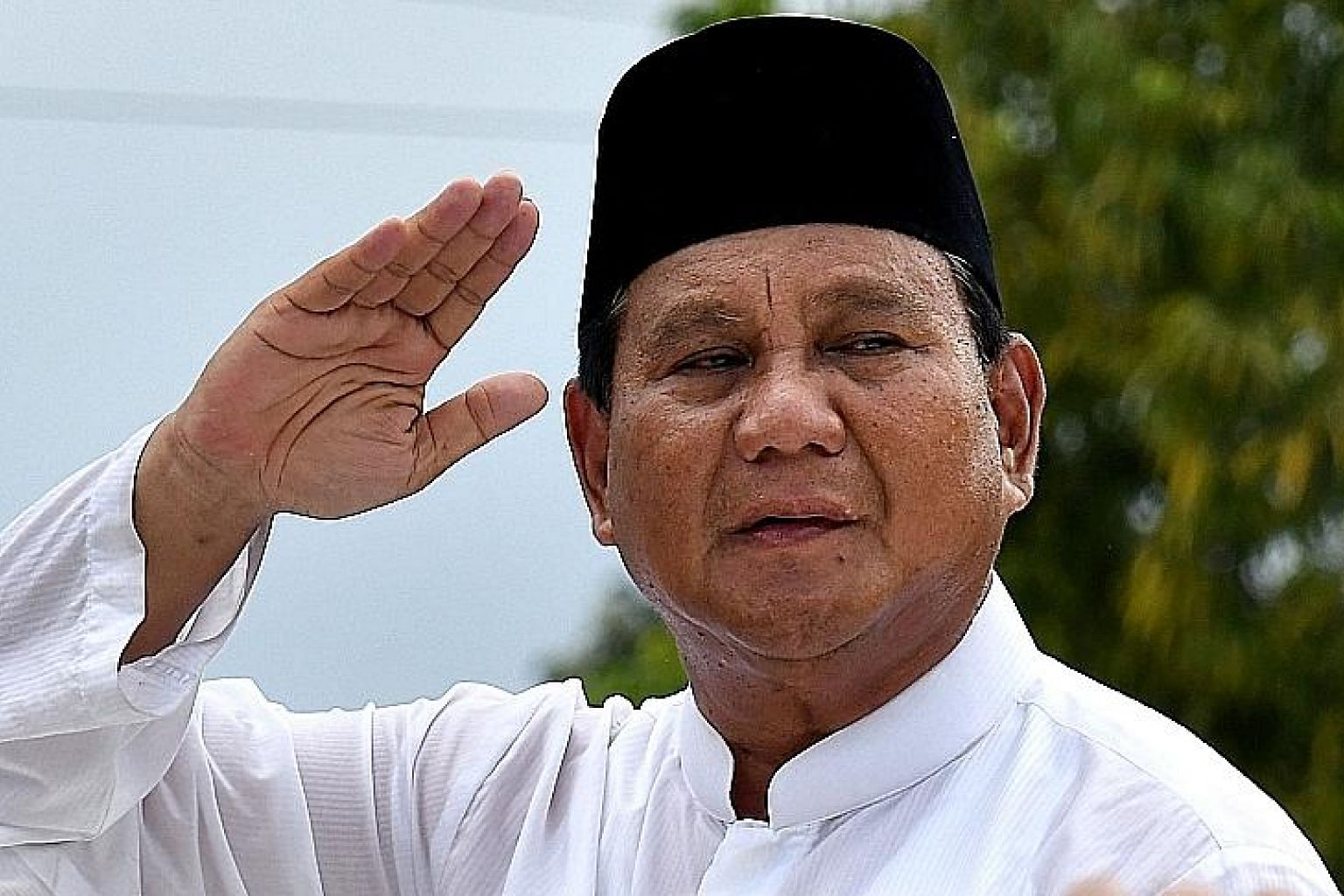 Mr Prabowo Subianto has refused to concede defeat in the April 17 presidential election.