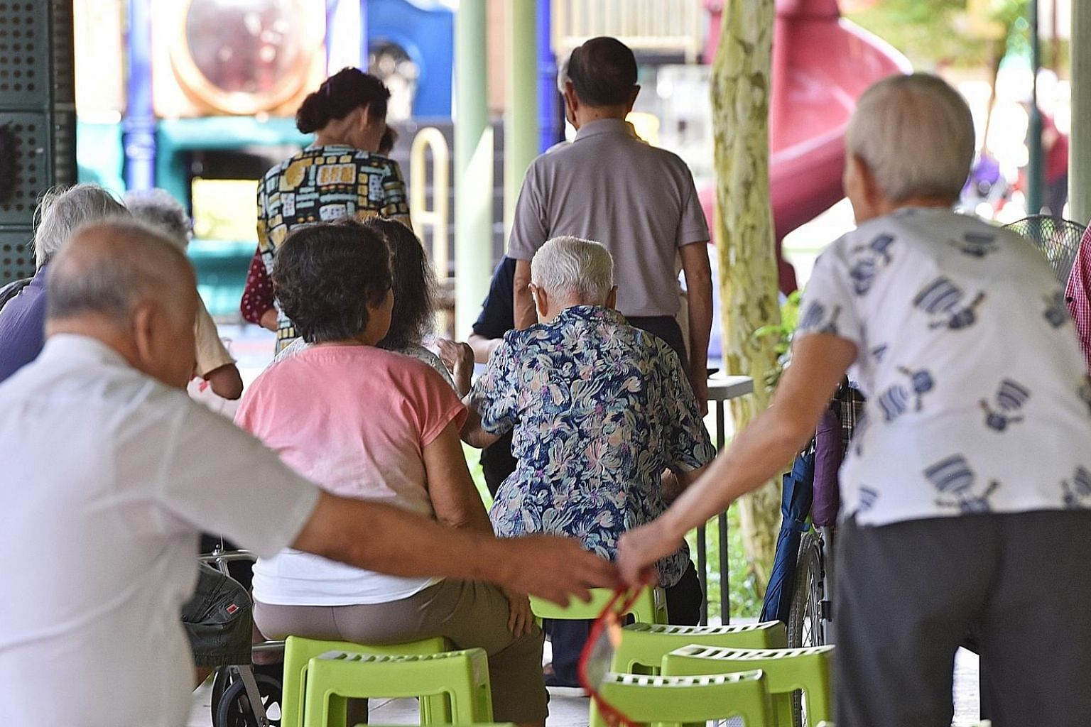 With longer life expectancy and smaller families, elders need stronger support, not only from the state but also from the rest of us in society, says the writer. For instance, the community and the non-profit sector must look beyond the traditional p