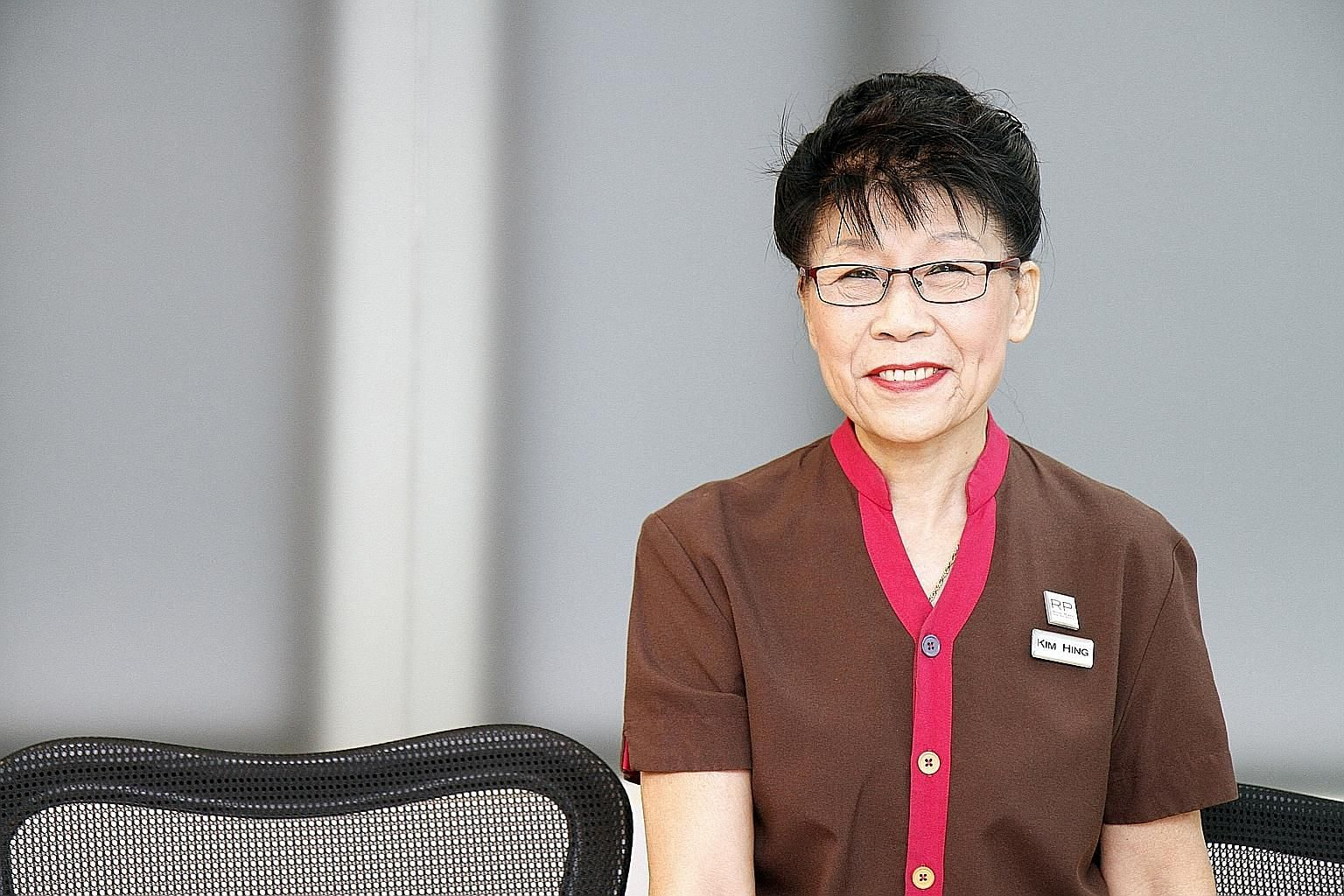 Madam Tan Kim Hing gets to mentor her younger colleagues, who have in turn imparted new skills and knowledge to her.