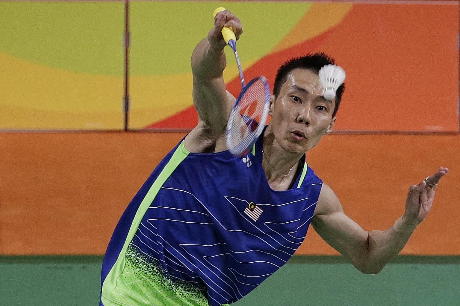 Lee Chong Wei may have to settle for his three Olympic silver medals, with the Malaysian's chances of playing in Tokyo next year diminishing. ST FILE PHOTO