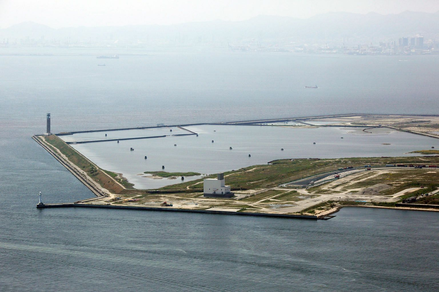 Yumeshima island in Osaka Bay in 2014. Osaka proposed the reclaimed island as a casino resort site, for what could potentially be Japan's first integrated resort. Japan's third-biggest metropolis is the current front runner for one of three coveted l