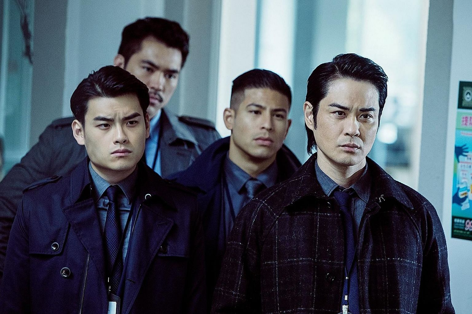 Former TVB actor Kevin Cheng (left, as a police captain in Invincible Dragon) hopes to get more action roles while he still can.