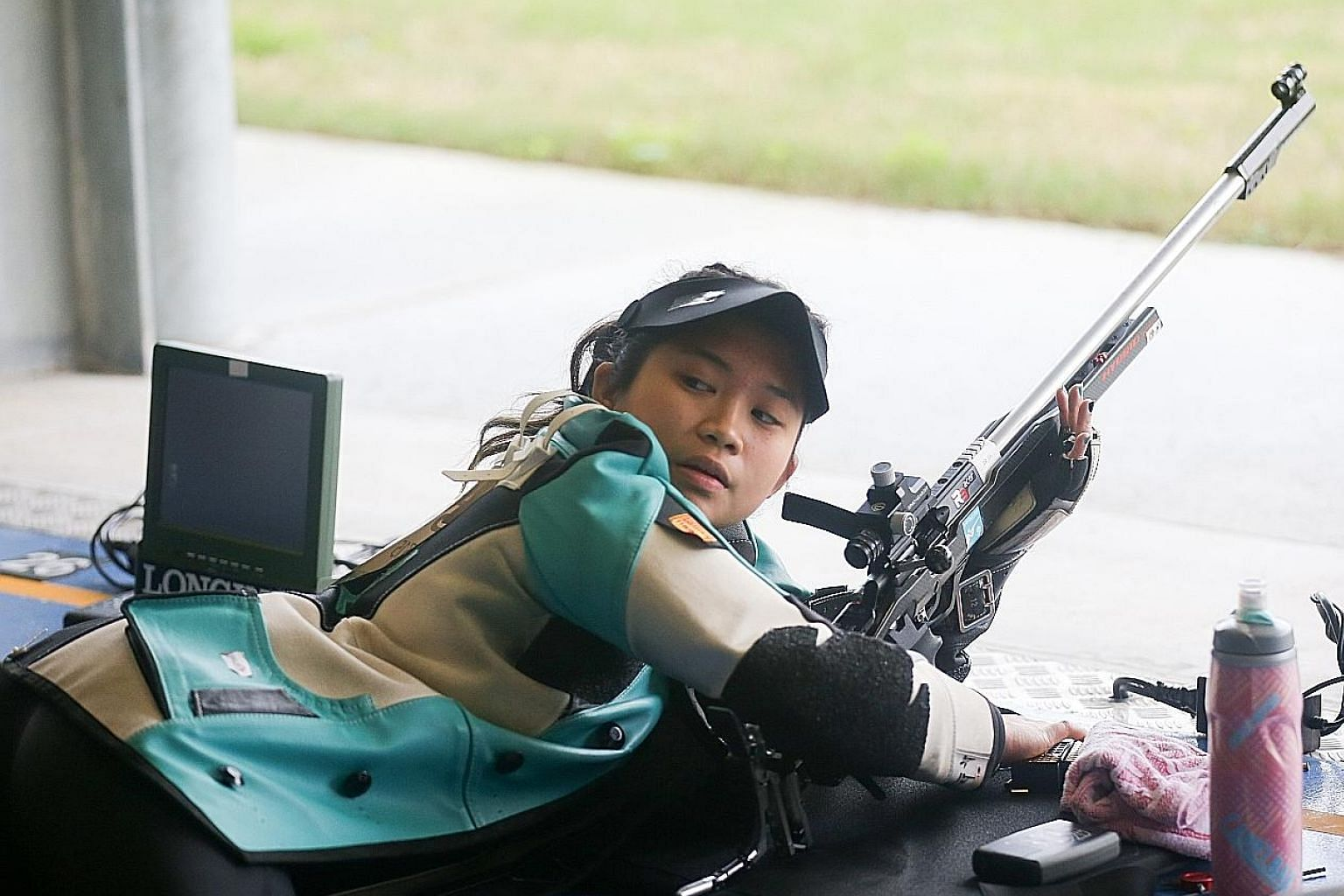 Martina Veloso won two gold medals (10m air rifle and 50m rifle prone) to account for 40 per cent of Team Singapore's golds and emerge their top individual athlete at last year's Commonwealth Games on the Gold Coast.