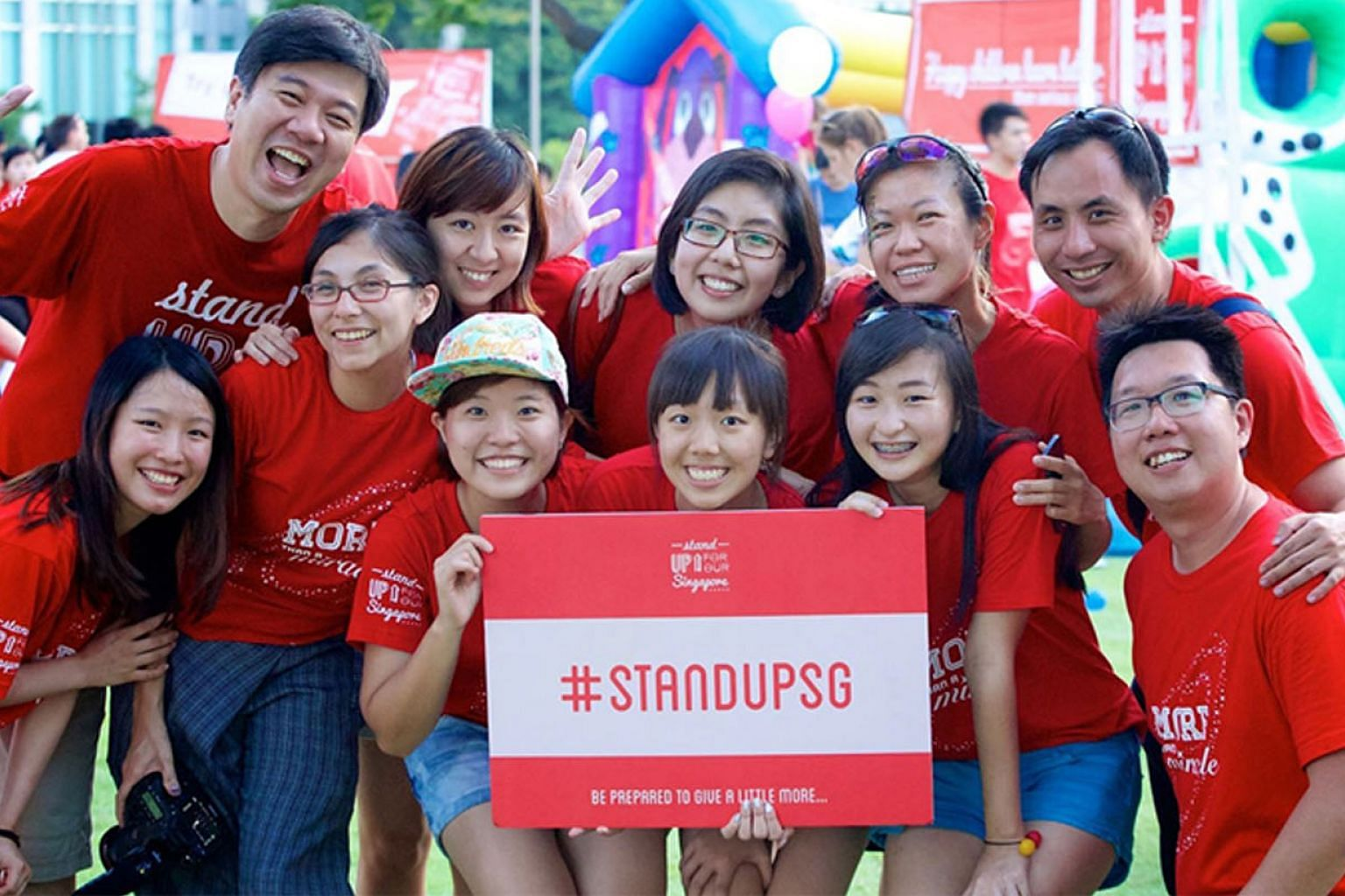 StandUpFor.SG is a group of young Singaporeans who seek, among other things, to spread kindness to others. Young people may find comfort in numbers and prefer to volunteer in a group rather than act on their own, says Singapore Kindness Movement's ge