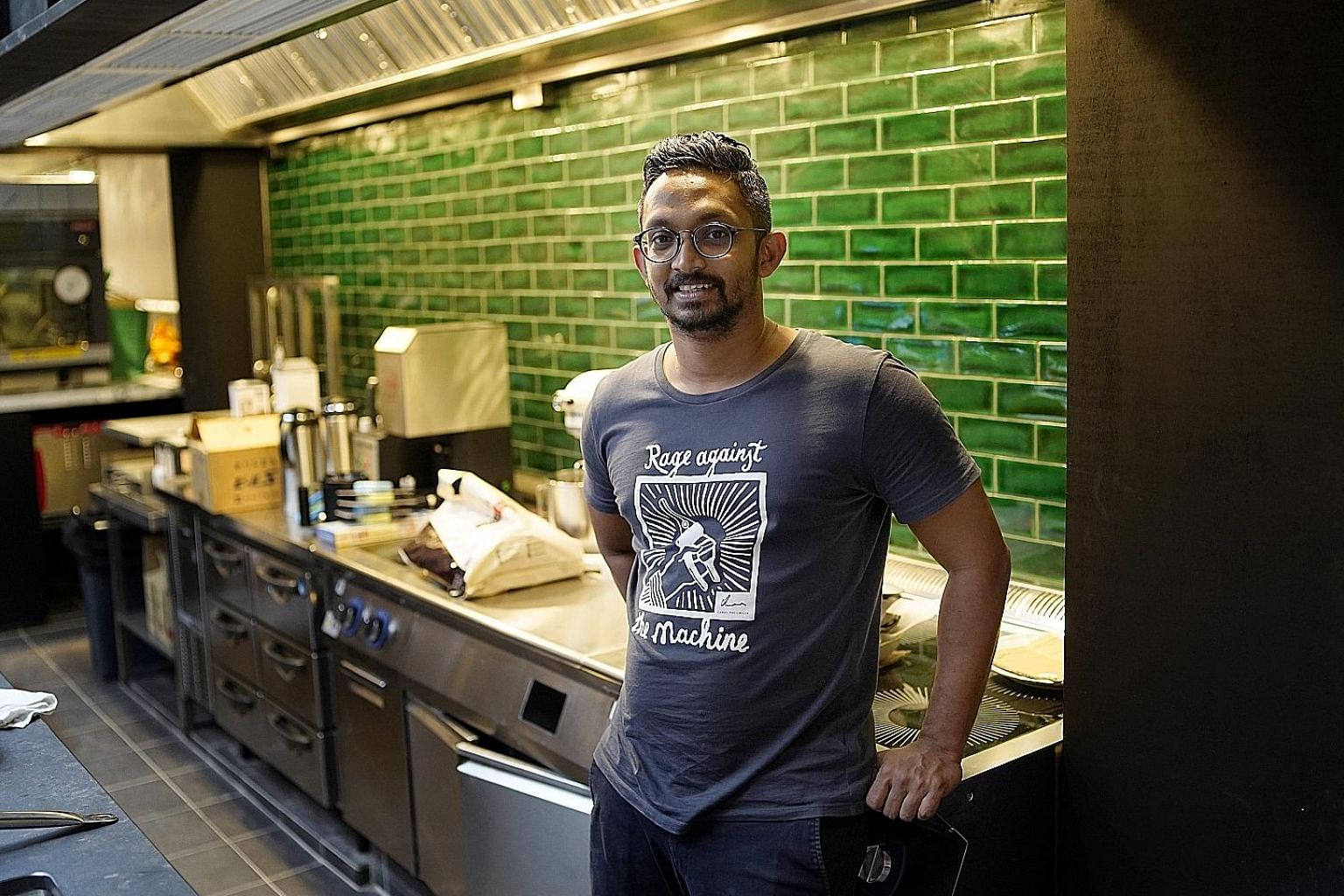 Chef Rishi Naleendra is gearing up for the opening of 40-seat modern Australian restaurant Cloudstreet in Amoy Street in the middle of next month.