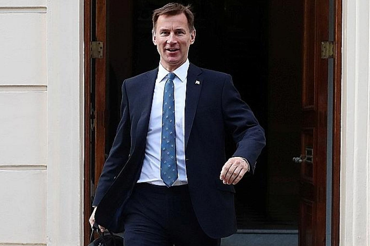 Since both Mr Boris Johnson (left) and Mr Jeremy Hunt are keen to avoid too much contact with reality, the campaign in the race for the British premiership is indeed largely confined to personalities.