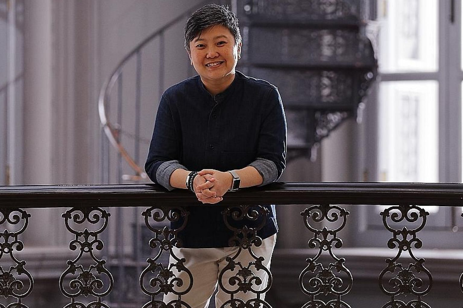 Ms Angelita Teo, director of the National Museum of Singapore, will become director of the Olympic Foundation for Culture and Heritage starting in October.