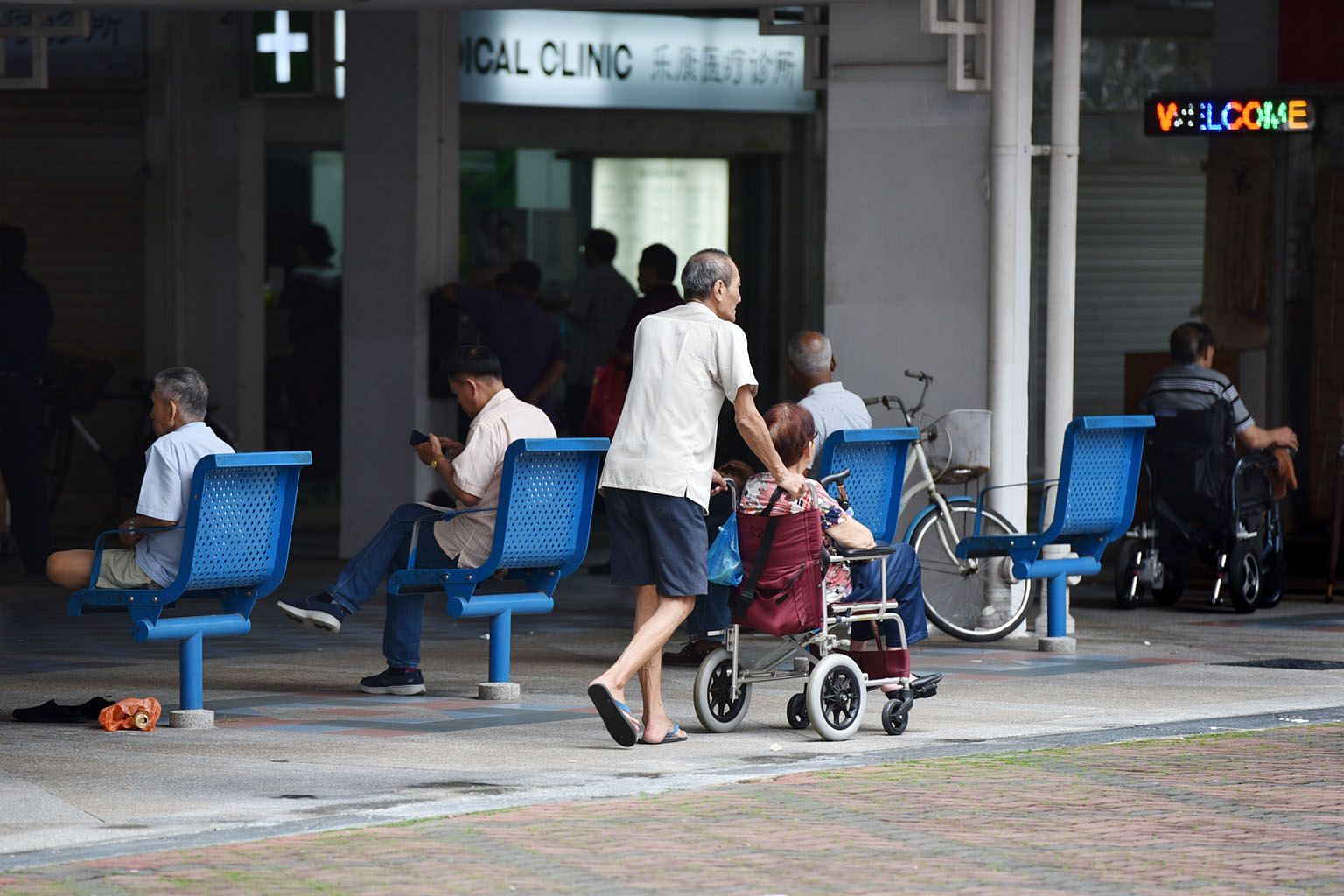 The writers concluded from a research project on the basic needs of the elderly that ordinary people acknowledge their common experiences with one another more than they did their differences. ST PHOTO: JASMINE CHOONG