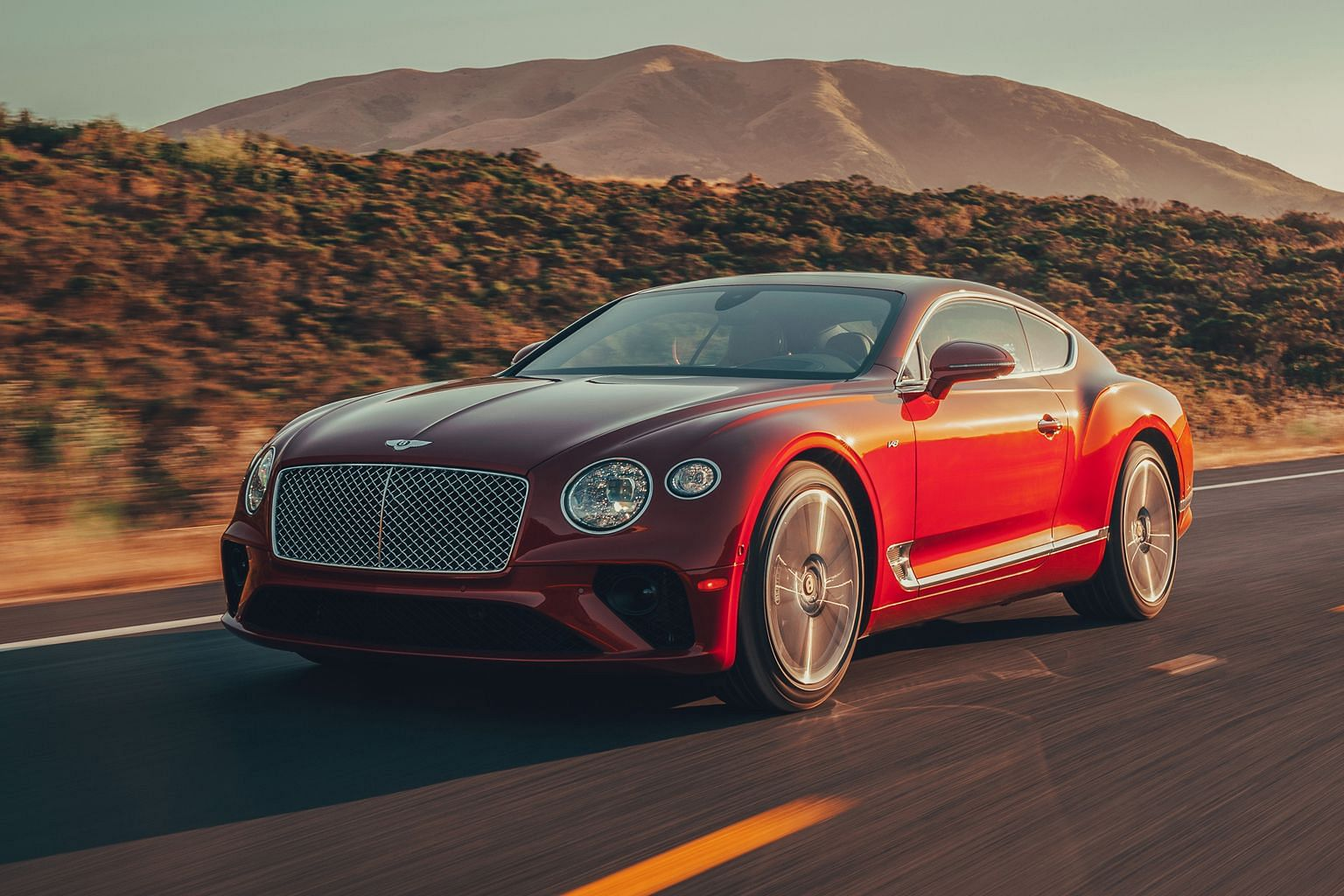 The Bentley Continental GT's 4-litre V8 variant impresses, completing the century sprint in 4 seconds and hitting a top speed of 318kmh.