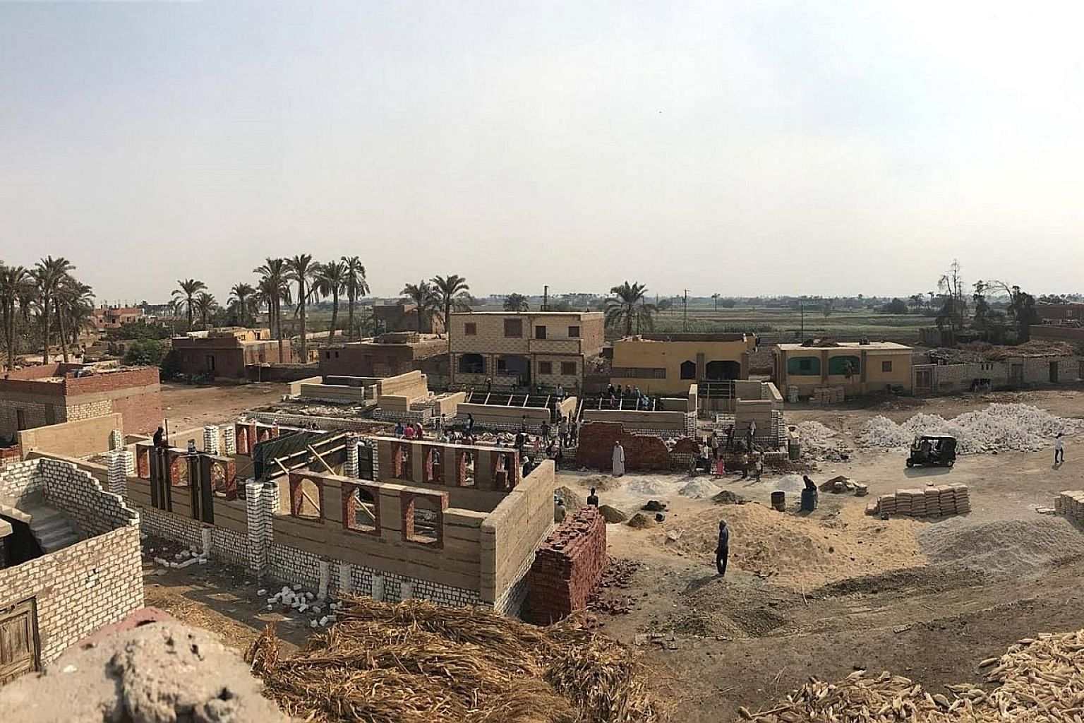 For its third project, social enterprise Hand Over built a school last year for 300 students in Abu Ghadan, a village 80km from Cairo.