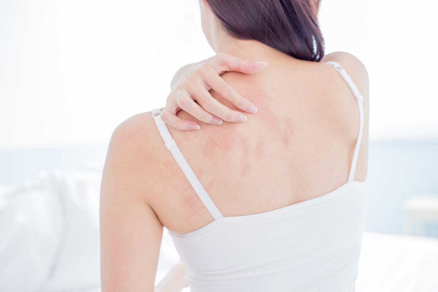 Biologic drug Dupilumab, which is given by injection, reduces inflammation, soothing skin redness, itch and rash associated with eczema.