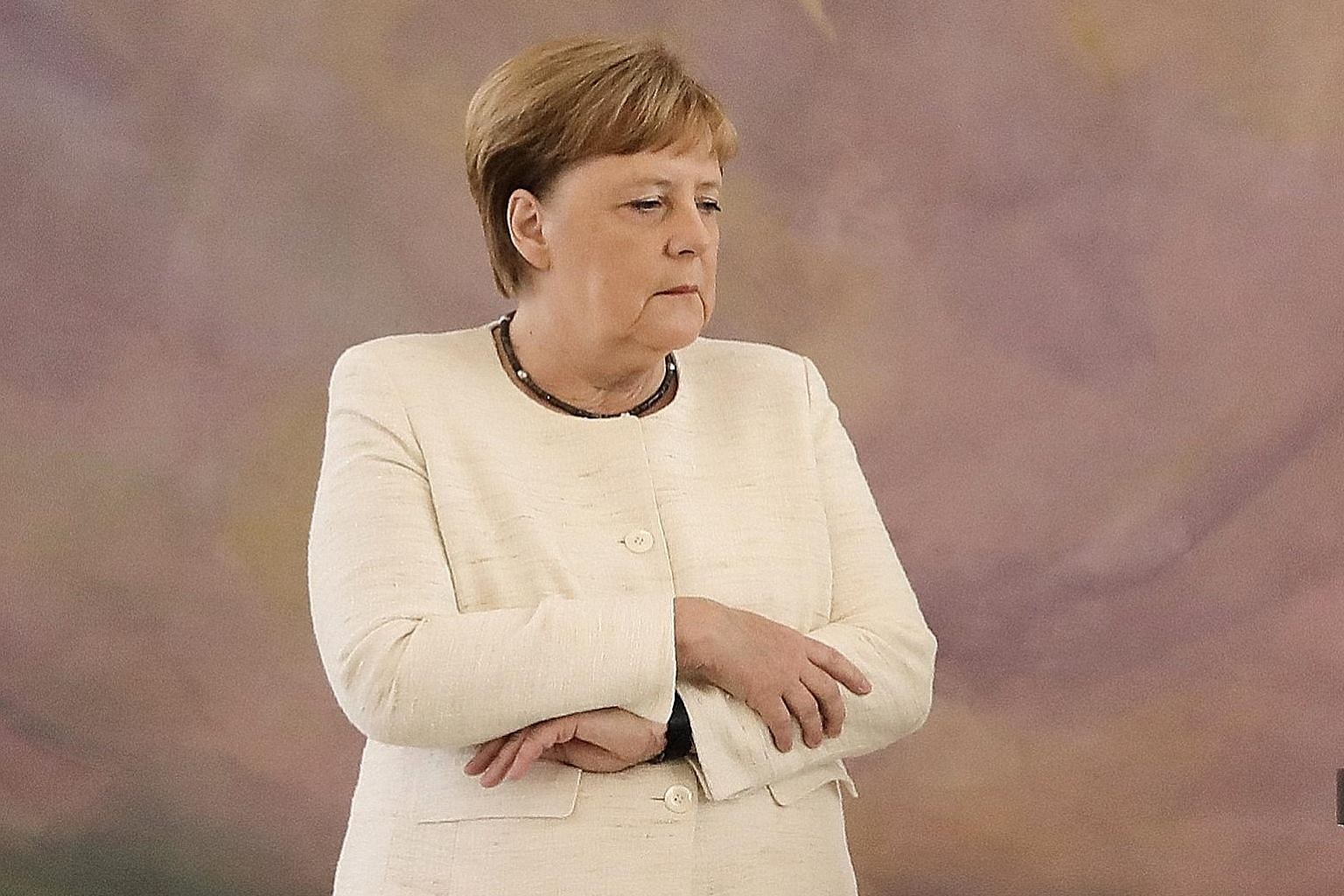 Many in Germany are concerned about Dr Angela Merkel's health and heavy workload, but the Chancellor, who has led the country since 2005, refuses to make a big deal of her recent trembling episodes.