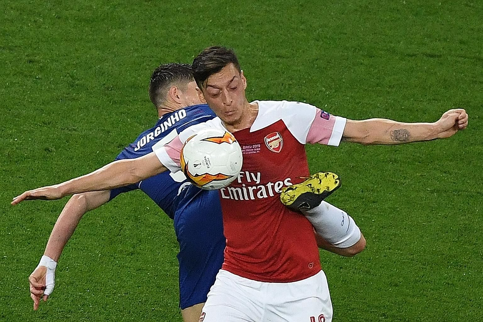 In this 4-1 Europa League final defeat by Chelsea on May 29, Mesut Ozil struggled to make an impact, as he did all season. Former Gunner Robert Pires is urging Arsenal fans to be patient with the enigmatic playmaker, who can help his own cause by sco