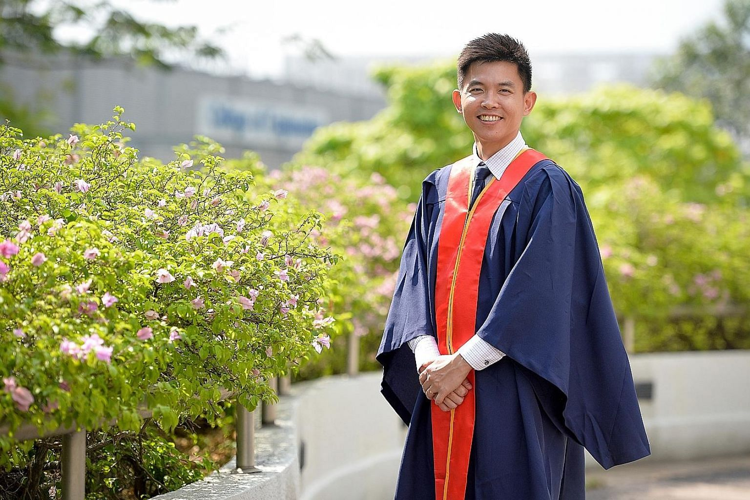Ms Abirami Archunan was among six teachers who received the Outstanding Youth in Education Award. Mr Andy Png, who graduated with 15 others in October last year with a Diploma in School Counselling, wants to help students who face problems in differe