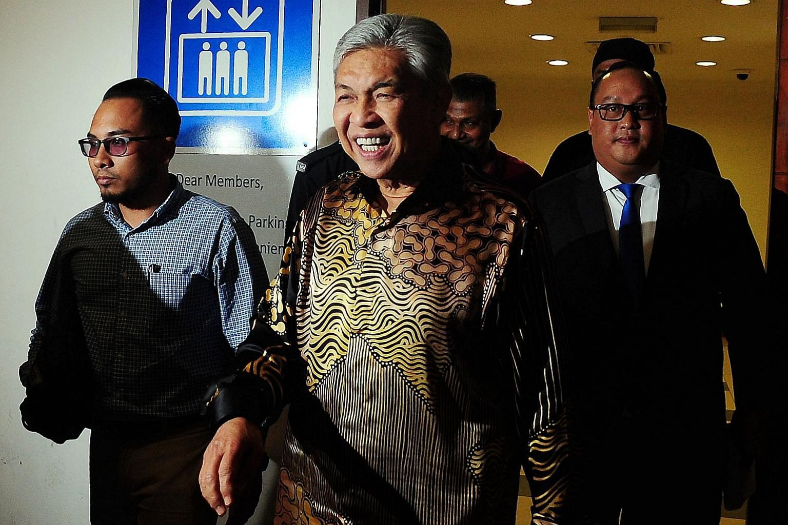 The comeback of Umno president Ahmad Zahid Hamidi (centre) could stir PM Mahathir Mohamad into action, as Mr Zahid pursues a swift return to power by making Umno an ally to his former mentor, Datuk Seri Anwar Ibrahim.