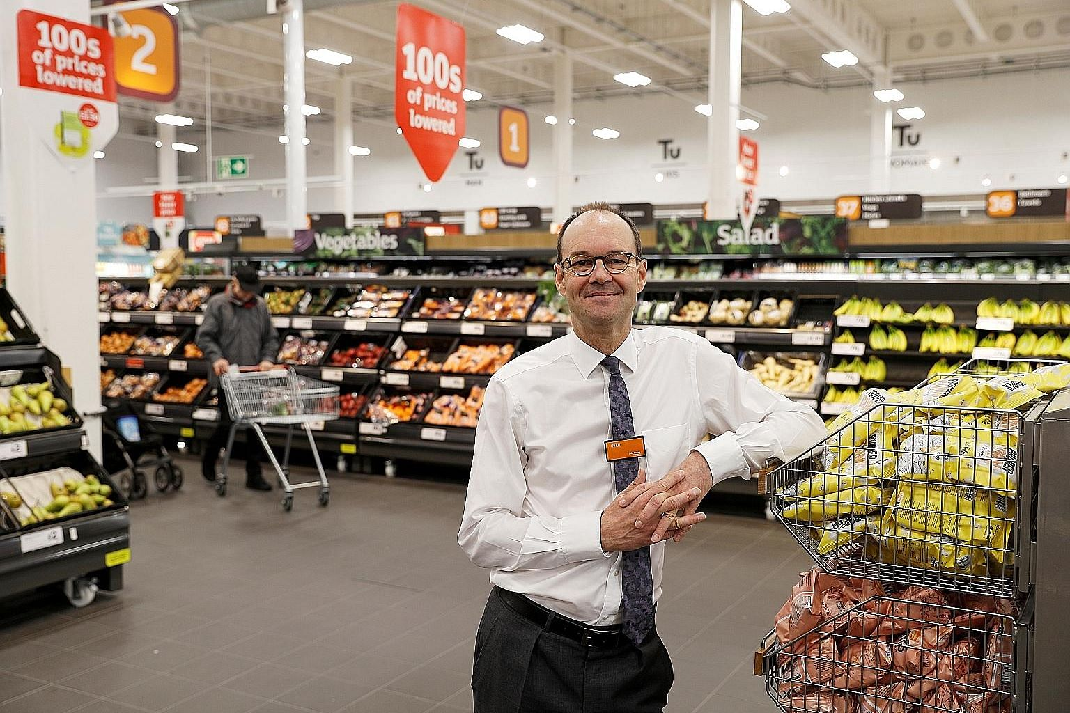 """Sainsbury's chief executive officer Mike Coupe, noting that late October is when the company revs up its supply chains for Halloween, Black Friday and Christmas, said: """"A very hard-edged Brexit would be very disruptive to our business and potentially"""