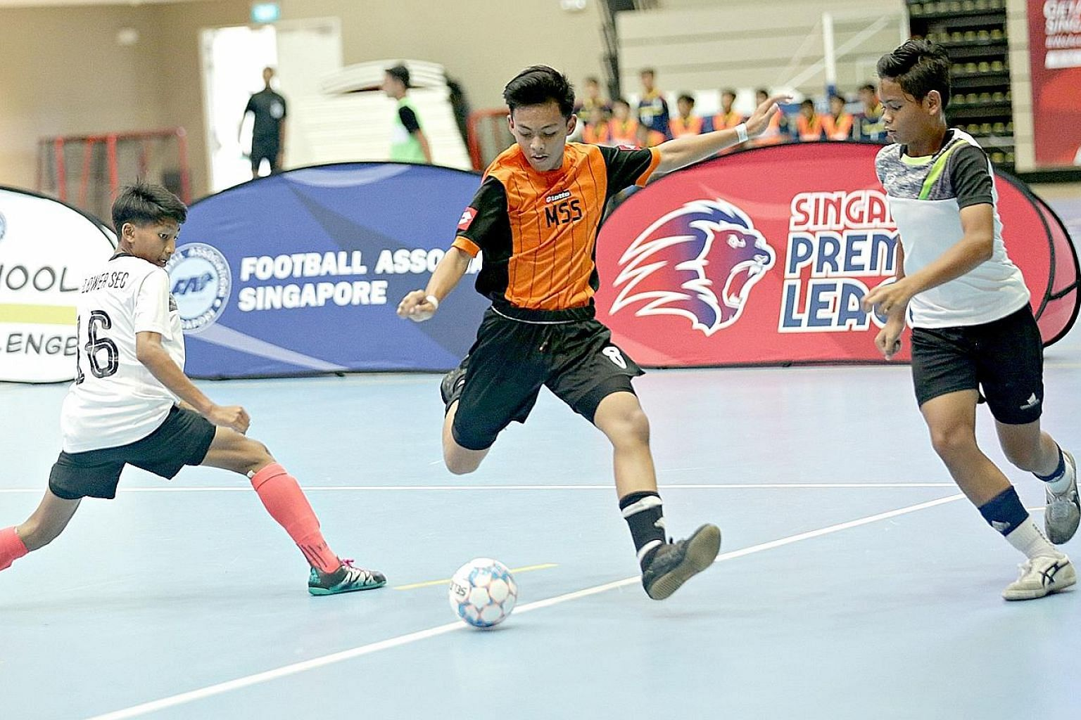 Last year, 40 teams from 35 schools competed for the Under-14 Inter-School Futsal Challenge trophy. This year, the number has reached 50.