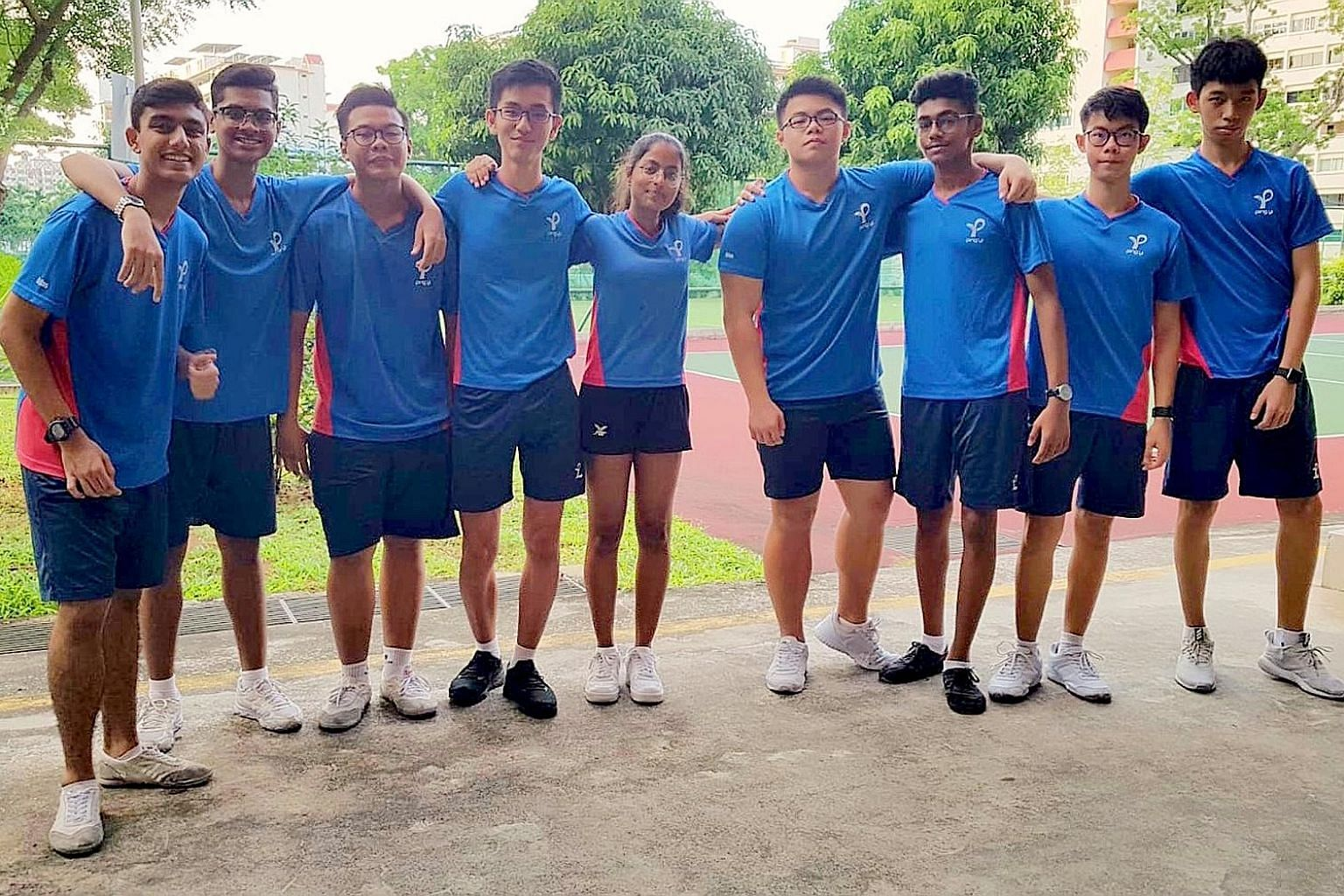 Ping Yi Secondary School are the first team to sign up for the ST Run's SPH35 Panasonic Schools Challenge. The Schools Challenge is a new addition to the annual ST Run, held at the Singapore Sports Hub on Sept 29.