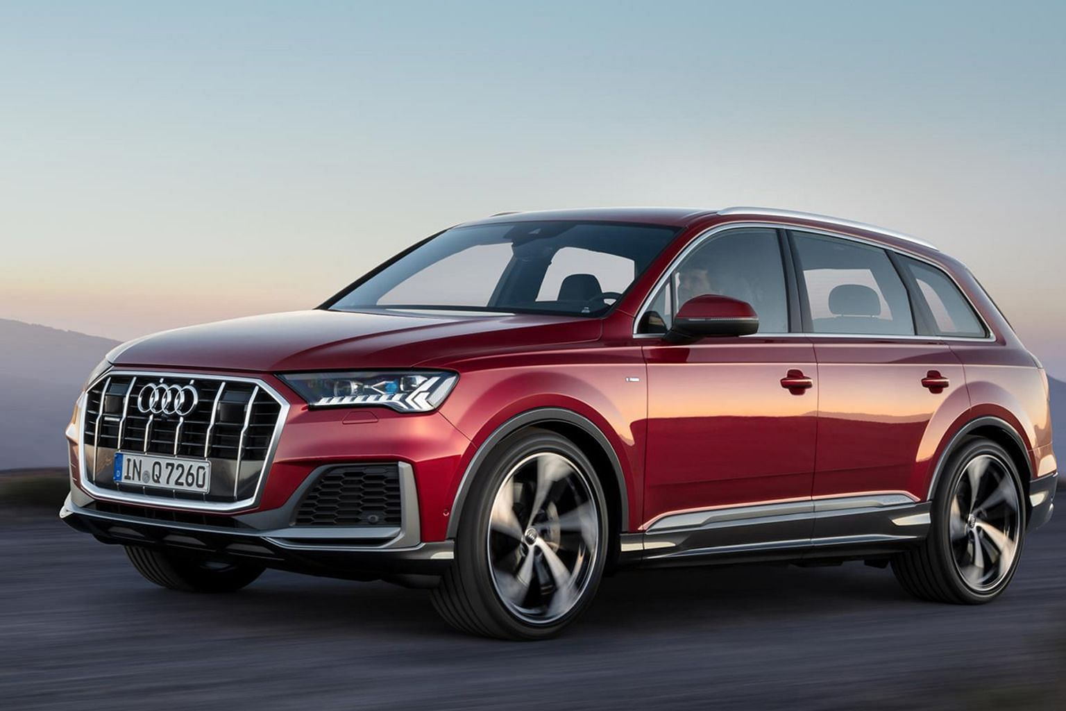 Refreshed Audi Q7 to arrive early next year.