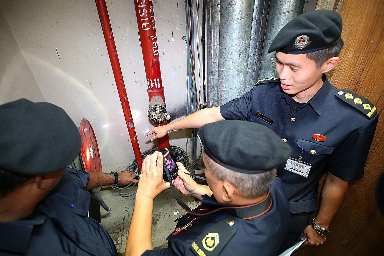 The SCDF does about 10,000 inspections yearly, which include scheduled checks as well as ad hoc ones, which are based on public feedback.