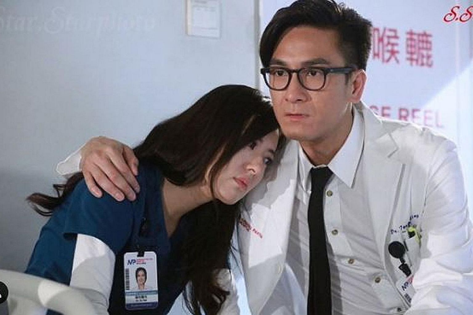 Natalie Tong and Kenneth Ma play a divorced couple in TVB serial Big White Duel.