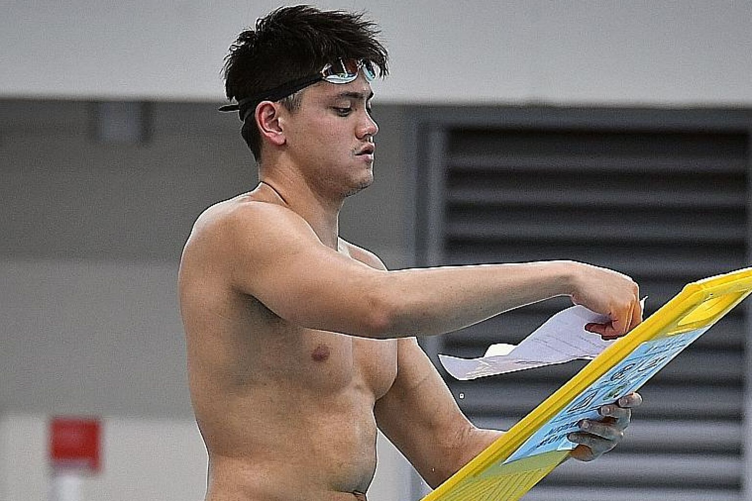 Butterfly star Joseph Schooling is part of Singapore's biggest contingent at a Fina world championships this month in South Korea.
