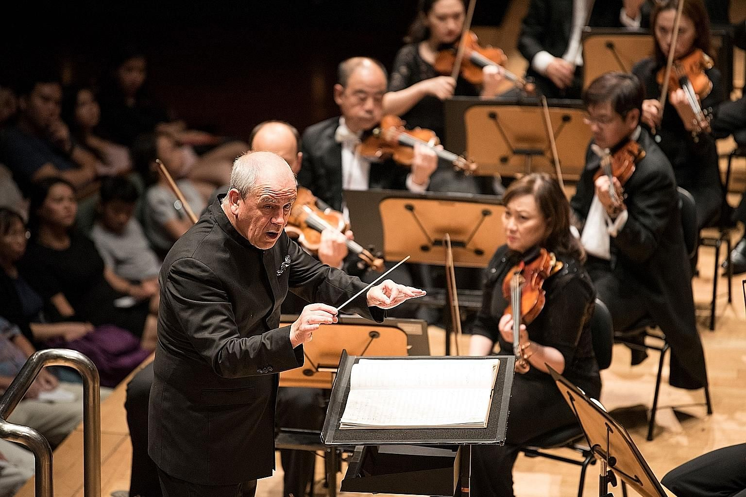Hans Graf was music director of the Houston Symphony Orchestra from 2001 to 2013 and holds the title of Conductor Laureate.
