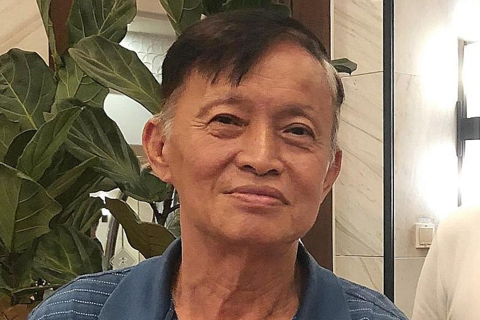 Mr Quek Lye Seng died last Friday after being stung by hornets. He was picking durians and rambutans alone in a forest in Hillview when he encountered the insects.
