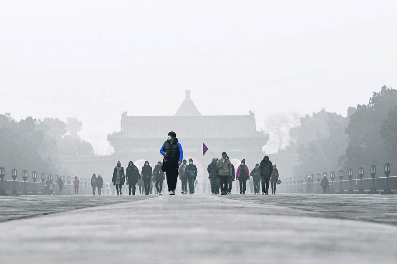 China has been working to curb choking levels of pollution by cutting coal use, improving fuel standards and encouraging cleaner forms of industry and energy.