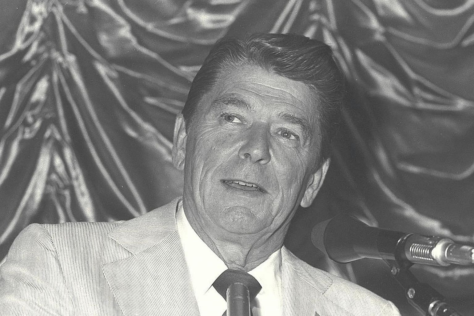 Mr Ronald Reagan's ideological offensive of the 1980s is still relevant, says the writer.