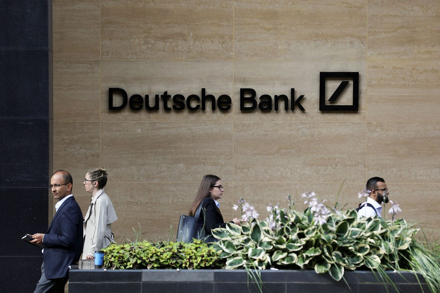 Deutsche Bank's website until Wednesday said it had more than 1,200 staff in Hong Kong, although that figure has since been removed. Expatriate bankers who lost their jobs and want to remain in Hong Kong have to consider lower-paying options or demot