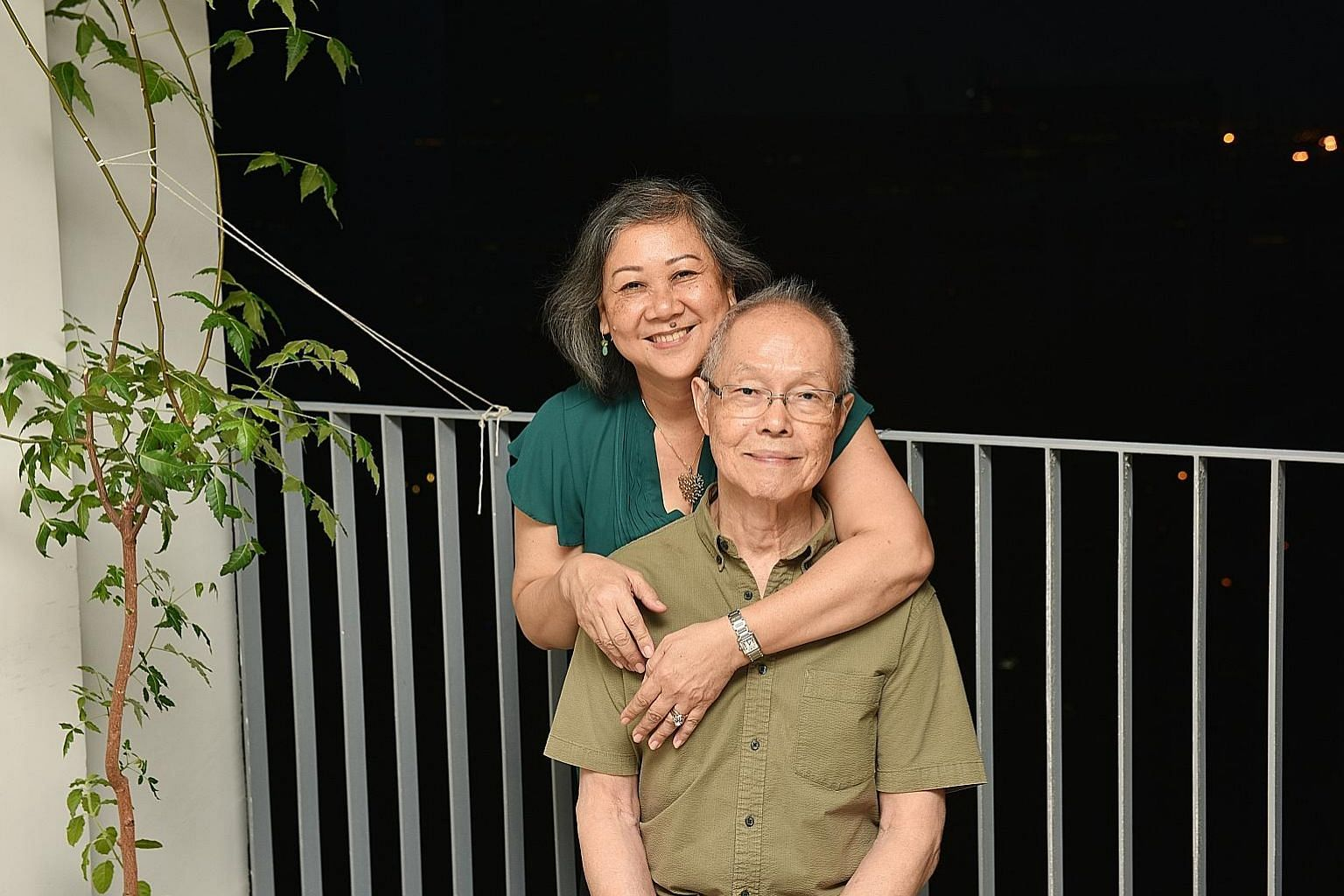 Adjunct lecturer Lindy Ong, 55, a permanent resident, and Mr Peter Lim, 80, former editor-in-chief of The Straits Times, have been together for 27 years and tied the knot last month.