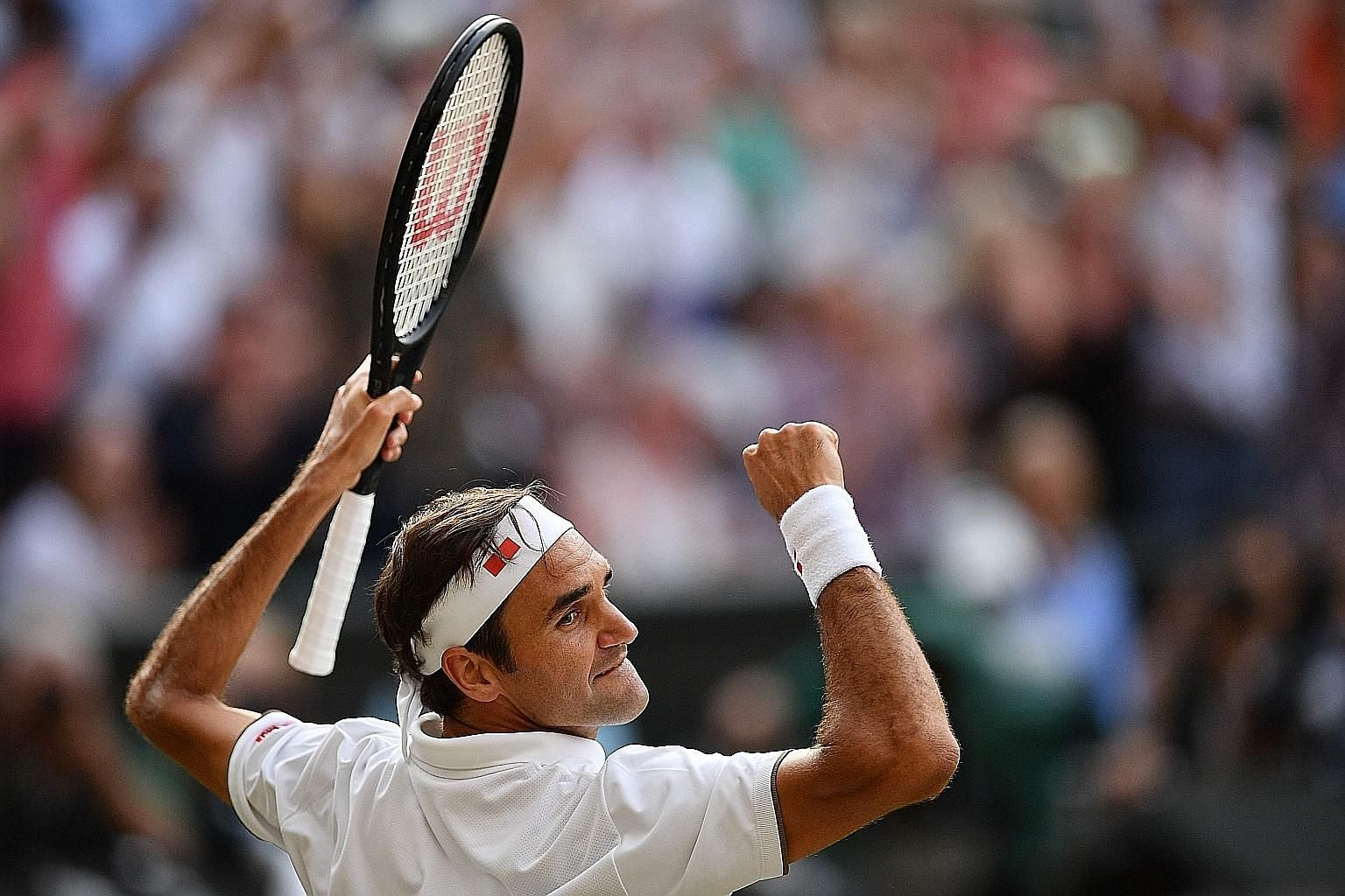 Roger Federer will be hoping for back-to-back wins over both Rafael Nadal and Novak Djokovic at Wimbledon. He downed Nadal in four sets in the semi-finals and will meet Djokovic in the final.